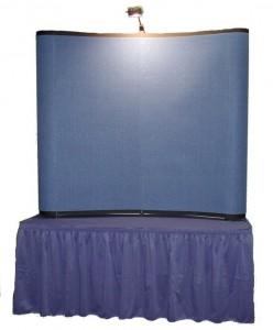 Tabletop trade show displays